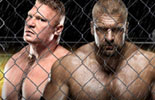 HHH vs 布洛克高清壁纸《WWE2013极限规则》