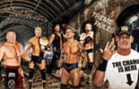 WWE群星(地下隧道)高清壁纸《WWE2013极限规则》