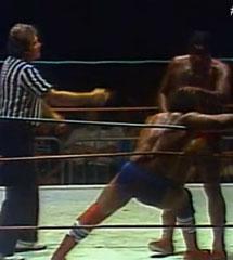 WWE布奇里德 vs Rufus RJones NWA 1981