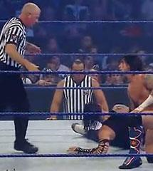 WWE CM·朋克 vs 杰夫·哈迪【马特·哈迪观战】