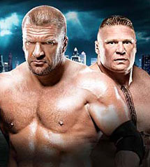 <b>HHH vs 布洛克《WWE2013摔跤狂热大赛》</b>