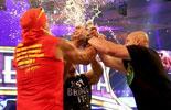 霍根,冷石,洛克同聚擂台《摔角狂热30》