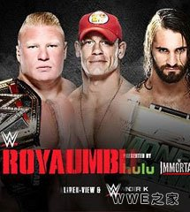 <b>布洛克vs塞纳vs罗林斯《WWE2015皇家大战》</b>