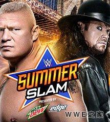 <b>送葬者 vs 布洛克·莱斯纳《WWE2015夏日狂潮》</b>