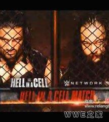 <b>罗曼·雷恩斯 vs 布雷·怀亚特《WWE2015地狱牢笼》</b>