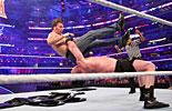 迪安·安布罗斯vs布洛克·莱斯纳《WWE2016摔角狂热大赛》