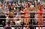 女子10人大战《WWE2016摔角狂热大赛》