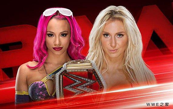 班克斯 vs 夏洛特_WWE女子冠军争夺赛《RAW最新赛事》