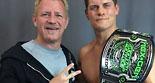 科迪·罗兹在GFW联盟获得新世代冠军头衔
