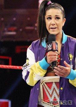 RAW女子冠军--贝莉