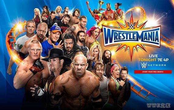 WWE年度最盛大的赛事__WWE2017摔角狂热33_2017年4月3日