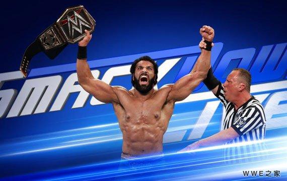 阿三成为新任WWE世界冠军《SD中文》