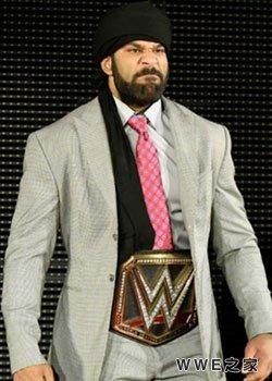 WWE世界冠军--阿三
