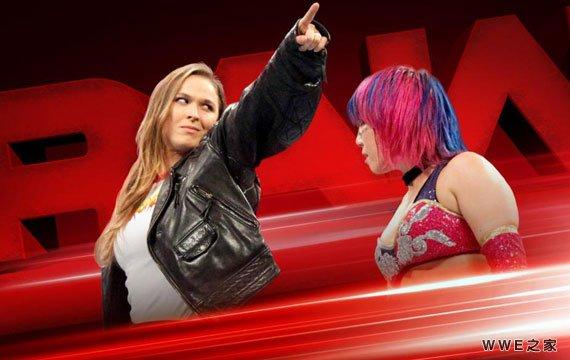 罗西加盟WWE《RAW赛事预告》