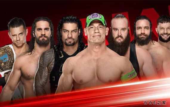 牢笼密室选手相聚擂台《RAW赛事》