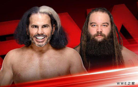 哈迪vs怀亚特《RAW赛事》