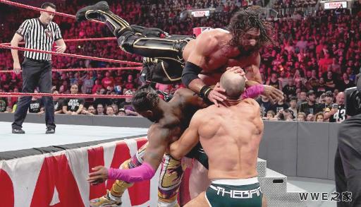 WWE2019年4月10日【RAW最新赛事】