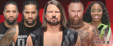 WWE2019年4月17日【RAW最新赛事】
