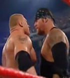 WWE 2002年不可饶恕 送葬者vs布洛克