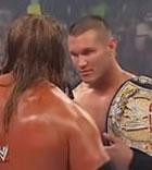 WWE07年毫不留情Randy Orton vs Triple H