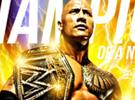 WWE洛克和新腰带-金黄色壁纸