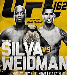 <b>UFC162 蜘蛛人 vs 韦德曼</b>