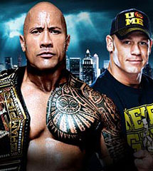 <b>塞纳 vs 洛克《WWE2013摔跤狂热大赛》</b>
