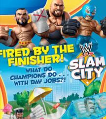 <b>WWE重摔之城动画《Slam City》五集</b>