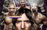 WWE世界重量级冠军高清桌面壁纸《摔跤狂热30》