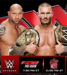 <b>WWE2014年4月1日【RAW最新赛事】</b>