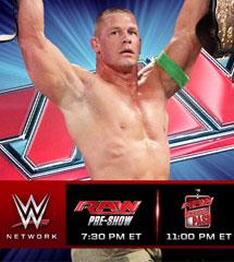 <b>WWE2014年7月29日《RAW最新赛事》</b>