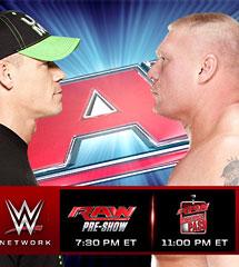 <b>WWE2014年8月12日《RAW最新赛事》</b>
