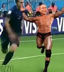<b>WWE兰迪爆笑恶搞【RKO无处不在】</b>