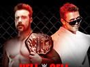WWE地狱牢笼赛2014-全美冠军赛:希莫斯vs米兹-PPV摔角2014年10月27日 - 狂野角斗士