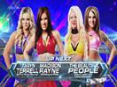 TNA女子撕衣-内衣肉搏赛:安吉丽娜&雪绒天使vs性感莱希&泰伦特-Impact摔角