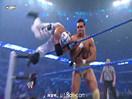 WWE经典大战史!阿尔伯托首秀首次发动翻转锁臂暴锁神秘人雷尔(2014.11.02期) -