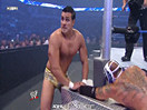 WWE选手首秀特辑!皇家贵族血统阿尔伯托首次登场完虐神秘人雷尔(2014.11.02期