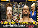 WWE重量级全美冠军赛!鲨鱼神君希莫斯vs大力士鲁瑟夫-RAW摔角2014年11月4日 - 狂