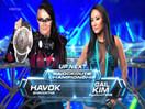 WWE女子撕衣-内衣肉搏赛:哈沃克vs盖尔金-Impact摔角2014年11月6日 - 狂野角斗士