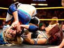 WWE女子撕衣-内衣肉搏赛:小公主布里斯vs莎莎-NXT摔角2014年11月13日 - 狂野角斗士
