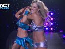 TNA女子撕衣-内衣肉搏赛:性感莱希vs泰伦特-Impact摔角2014年11月13日 - 狂野角斗士