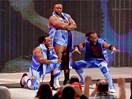 """WWE选手首秀特辑!黑人组合""""新一天""""(大E兰斯顿&科菲金士顿&哈维尔伍兹"""