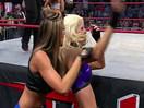 TNA女子撕衣-内衣肉搏赛:性感莱希vs安吉丽娜(雪绒天使)-Impact摔角2014年12月3日