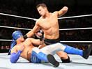 WWE双打冠军王者影分身之术!米兹&大名圣道vs斗牛士兄弟-ME摔角2014年11月2