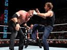 WWE狂傲神君pk红色巨魔!迪安布罗斯气炸凯恩-ME摔角2014年11月26日 - 狂野角斗士