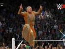 WWE笑死不偿命之爆笑模仿秀!佛莱尔模仿丹尼尔布莱恩YES招牌动作出场(2014.12