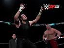 WWE笑死不偿命之爆笑模仿秀!迪安布罗斯哈维尔伍兹招牌动作出场(2014.12.05) -