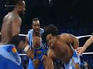 WWE安东尼奥塞萨罗&泰森基德vs科菲金士顿&哈维尔伍兹(大E兰斯顿)-SD摔角