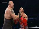 WWE四巨头厮杀赛!莱贝克&卢克哈珀vs大秀哥&赛斯罗林斯(凯恩)-SD摔角201