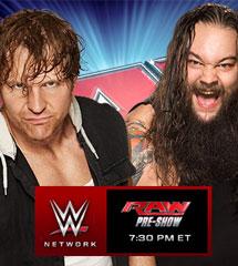 <b>WWE2015年1月6日《RAW最新赛事》</b>